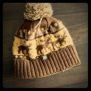 Eddie Bauer Caribou winter cap
